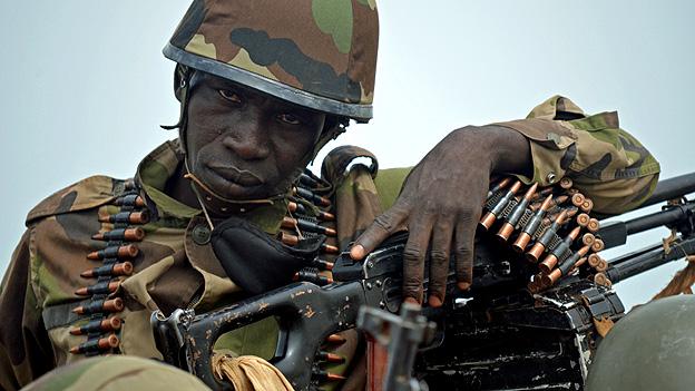 Mali Army soldier