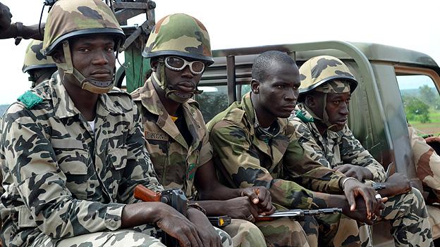 Mali Army patrol