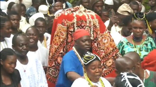 Procession in Oshoon