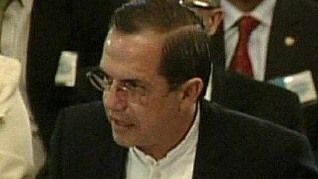 Ricardo Patino, Ecuador's foreign minister