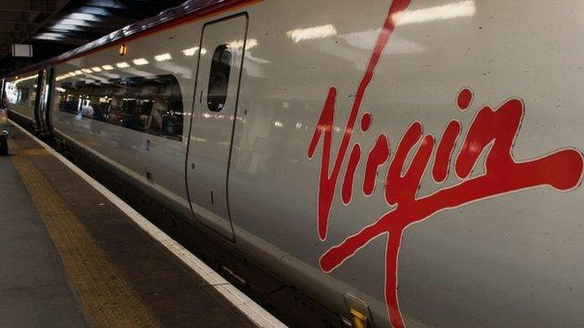 Virgin Rail train
