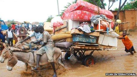 Flooding in Niamey