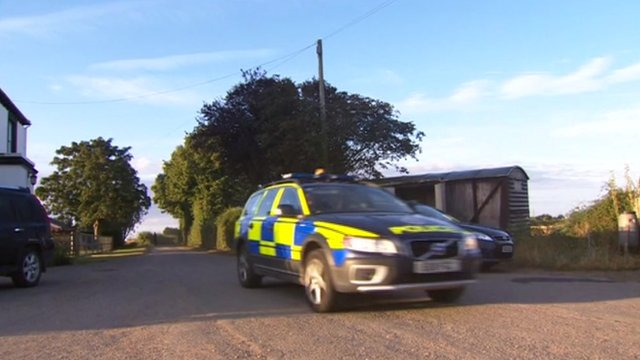 Police car in Essex