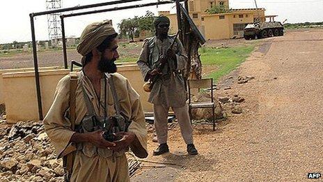 Ansar Dine Islamist fighters