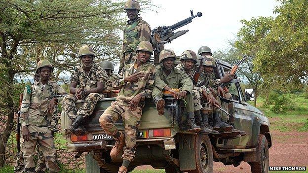 Mali patrol group