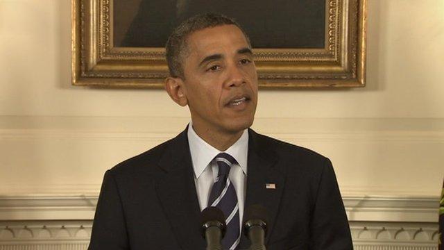 President Barack Obama at the White House