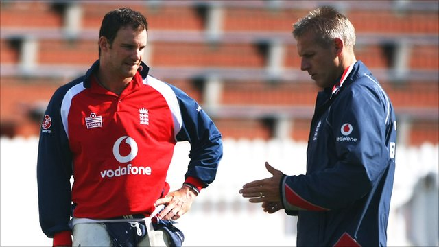 Andrew Strauss and Peter Moores
