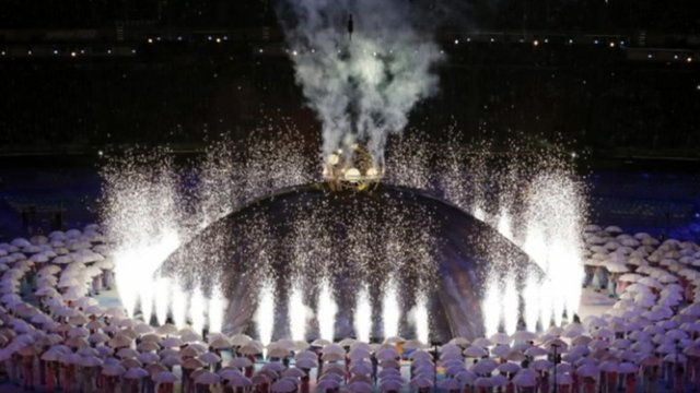 The opening ceremony for the London 2012 Paralympic Games
