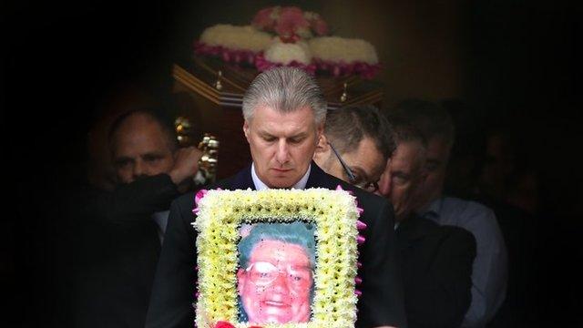 Winnie Johnson's funeral
