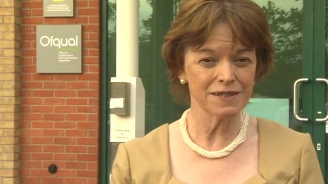 Glenys Stacey, Ofqual's chief executive