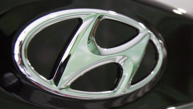 Hyundai Motor badge