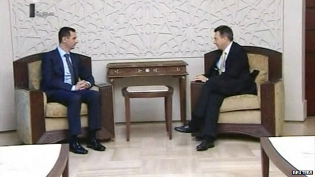 Red Cross chief meets Syrian leader Assad