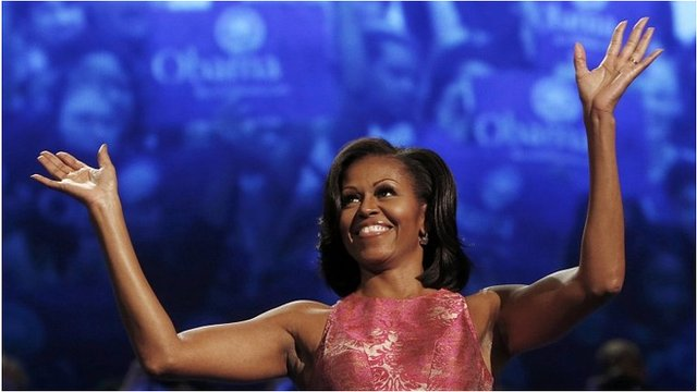 Michelle Obama at the Democratic National Convention, 4 Sep