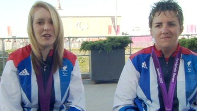 Danielle Brown and Mel Clarke
