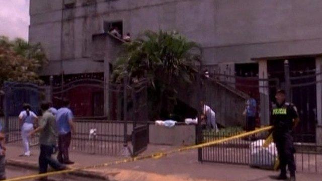 Earthquake in San Jose, Costa Rica
