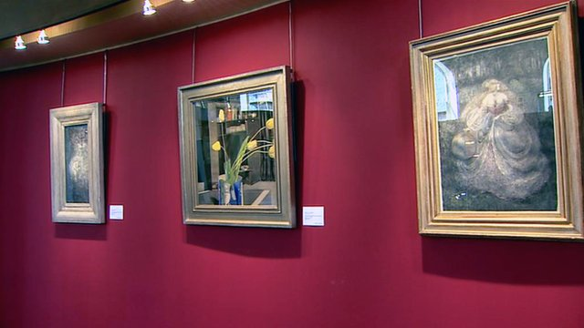 Paintings by Charles Rennie Mackintosh and the Glasgow Four