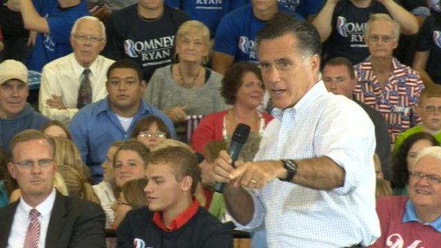 Mitt Romney in Iowa, 7 Sep