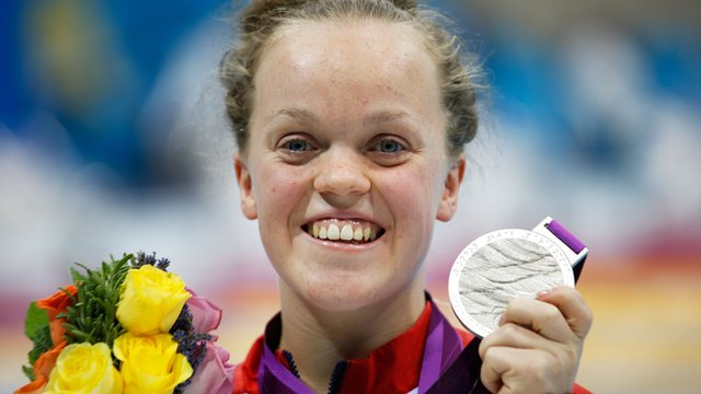 British swimmer Ellie Simmonds