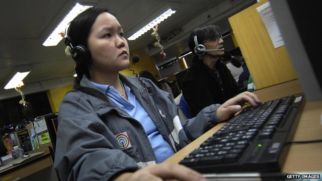 Philippines outsourcing worker