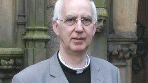 Bishop-elect Peter Brignall