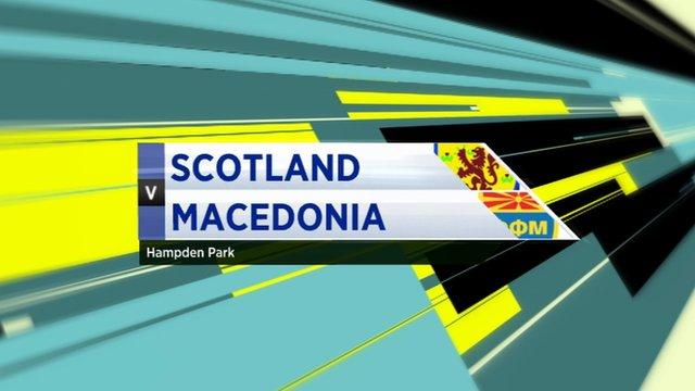 Highlights - Scotland 1-1 Macedonia