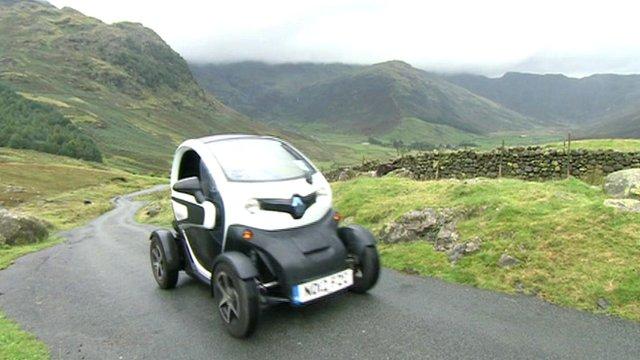 Car in Lake District