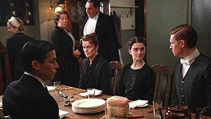 A scene from Downton Abbey - Carnival films/ITV