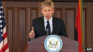 US Ambassador J. Christopher Stevens in August 2012