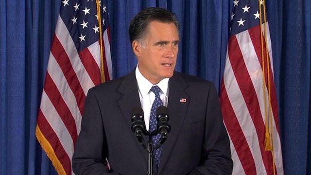 Mitt Romney speaks on Libya