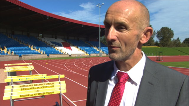 UK Athletics performance director Neil Black