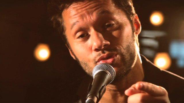 Argentine singer Diego Torres