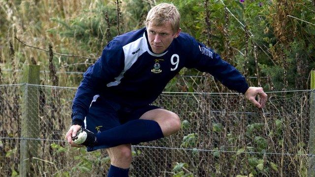 Inverness CT striker Richie Foran