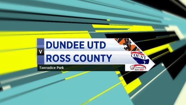 Highlights - Dundee Utd 0-0 Ross County