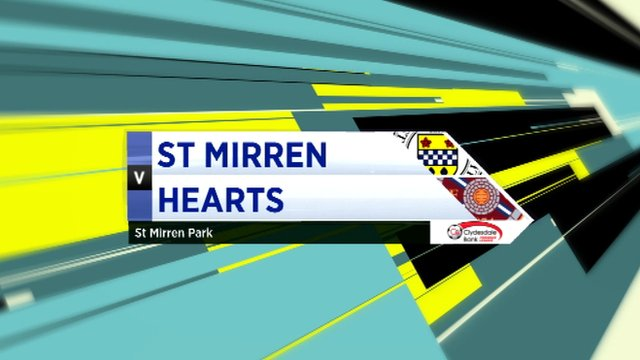 Highlights - St Mirren 2-0 Hearts