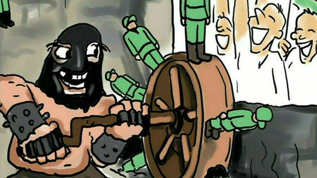 One of Gunduz Agayev's cartoons