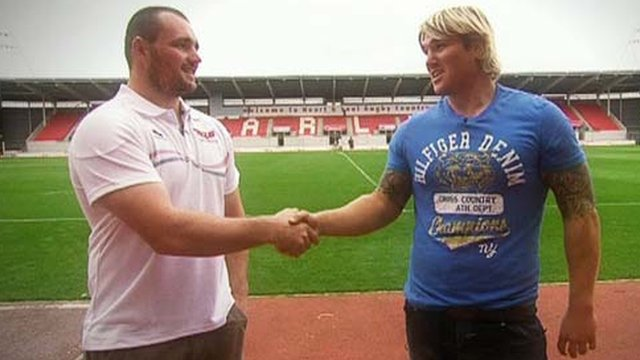 Ken Owens and Richard Hibbard