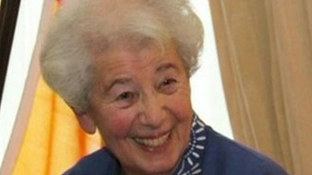 Ruth David escaped Nazi Germany in 1939 but her parents both died in Auschwitz