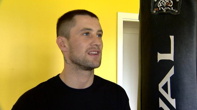 WBO world champion Ricky Burns