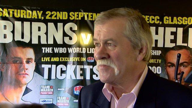 Boxing writer Jim Black