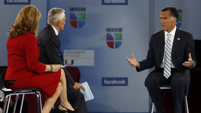 Mitt Romney on Univision