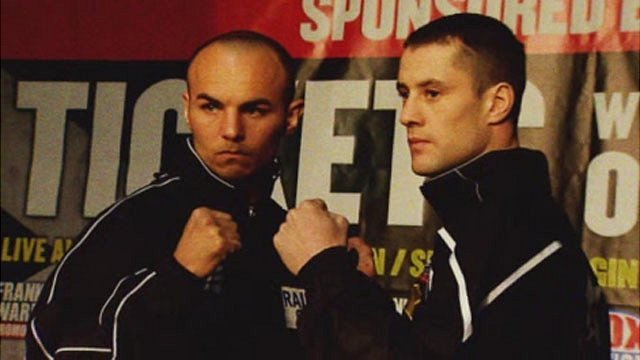 Kevin Mitchell and Ricky Burns