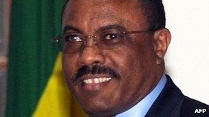 Hailemariam Desalegn (file photo)