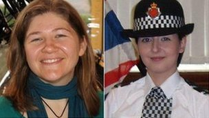 PC Fiona Bone (left) and PC Nicola Hughes