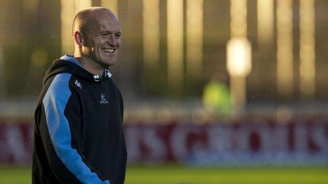 Glasgow Warriors head coach Gregor Townsend