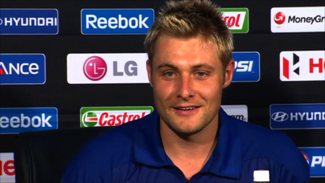 England all-rounder Luke Wright