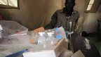 Medicines in Aweil Hospital in South Sudan