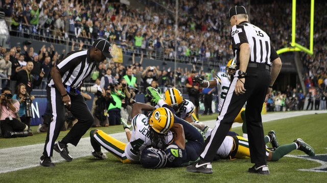 Uproar over controversial touchdown