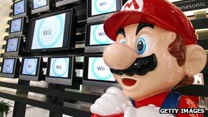 Model of Mario