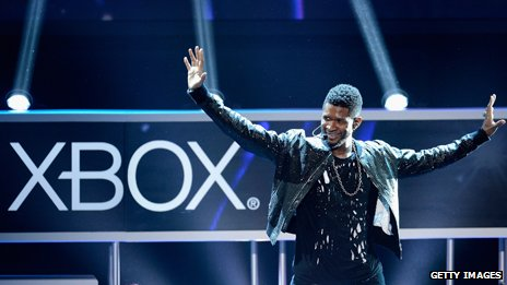 Usher launches Just Dance 3 at the E3 Gaming conference