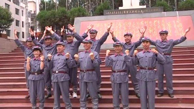 Communist School students